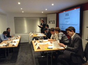 IEA debate