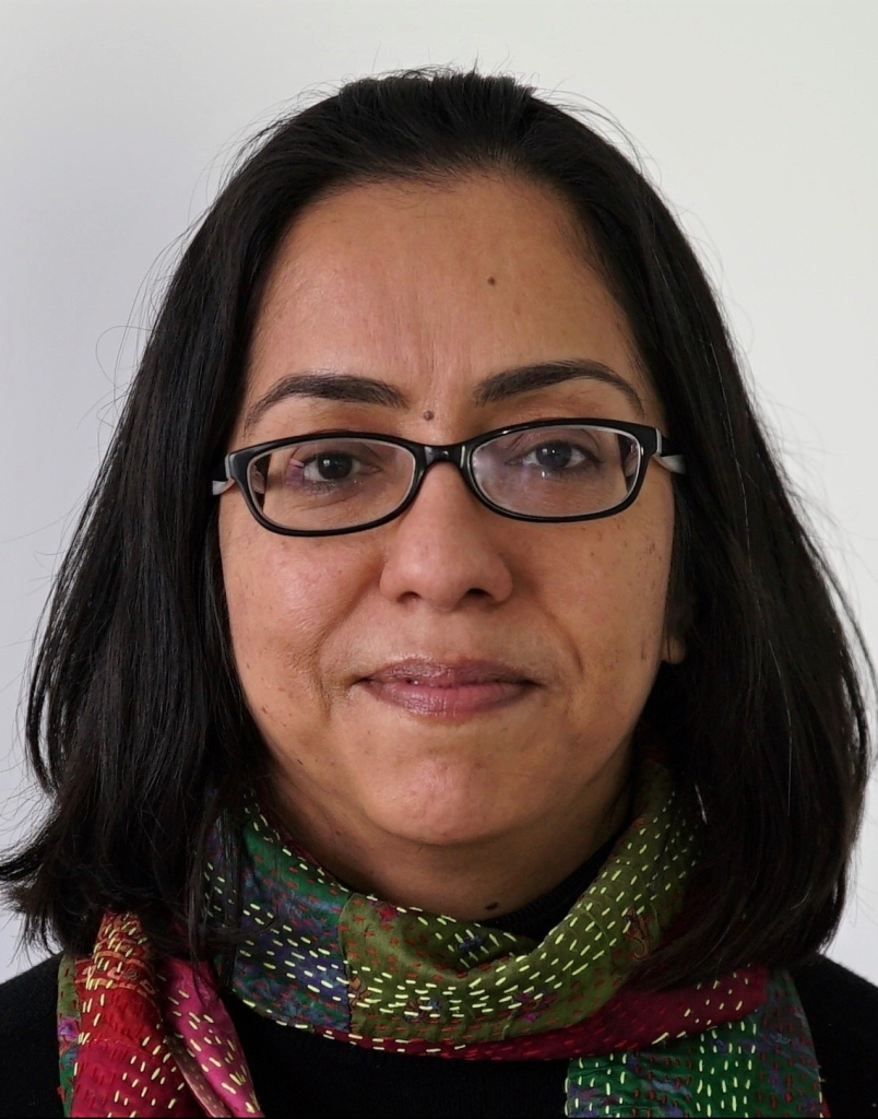 Headshot of Parama Chaudhury