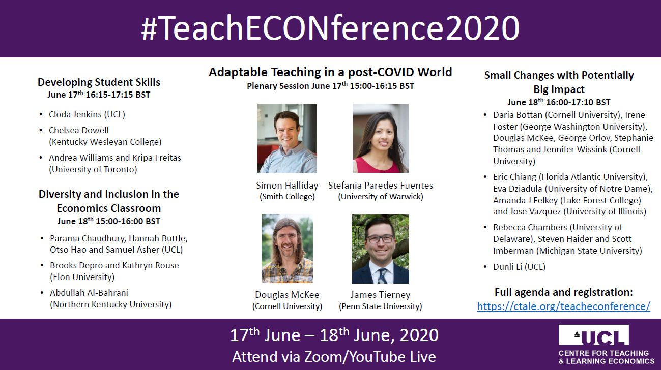 TeachECONference2020 overview